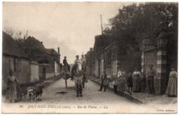 CPA 60 - JOUY SOUS THELLE (Oise) 10. Rue Du Plaine (voiture à Chiens) - LL - Ed. Casteran - France