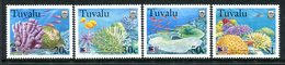Tuvalu 1998 Coral Reef Life - 4th Issue - Set MNH (SG 822-825) - Tuvalu