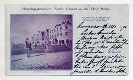 V141/ Otra Banda, Curacao Karibik, Dampfer Prinzessin Victoria Luise 1904 - Postcards