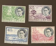 Voyage Du Roi En 1955. Cote 25,00 €. **. Postfris - Ruanda-Urundi