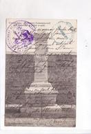 CPA  CASABLANCA, MONUMENT COMMEMORATIF DES MASSACRES DE JUILLET ET AOUT(voir Tampon Militaire) - Casablanca