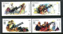 Tuvalu 1998 Christmas - SPECIMEN - Set MNH (SG 827-830) - Tuvalu