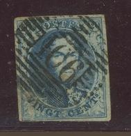 20c. 11. Oblitéré 166 - 1858-1862 Medallions (9/12)