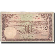 Billet, Pakistan, 10 Rupees, Undated (1951), KM:13, TB+ - Pakistán