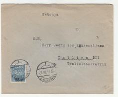 Poland, Letter Cover Posted 1935 Białystok Pmk B200601 - 1919-1939 République