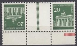 BERLIN  KZ 4, Postfrisch **, Brandenburger Tor 1970 - Se-Tenant