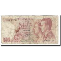 Billet, Belgique, 50 Francs, 1966, 1966-05-16, KM:139, B+ - [ 6] Treasury
