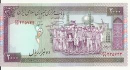 IRAN 2000 RIALS ND1996-2005 UNC P 141 J - Irán
