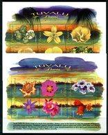 Tuvalu 1999 Flowers Sheetlet Set MNH (SG 851-862) - Tuvalu