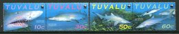 Tuvalu 2000 Sand Tiger Shark Set MNH (SG 872-875) - Tuvalu