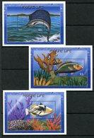 Tuvalu 2000 Marine Life MS (3) Set MNH (SG MS913a-c) - Tuvalu