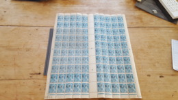 LOT503677 TIMBRE DE FRANCE NEUF** LUXE FEUILLE - Full Sheets