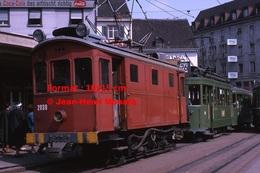 Reproduction D'une Photographie Dutramway B.V.B N°2030 Et Le Ligne 26 Dans Le CentredeBâle En Suisse En 1965 - Reproductions