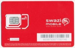 SWAZILAND - SWASILAND SWAZI MOBILE GSM (SIM) CARD MINT UNUSED - Swaziland