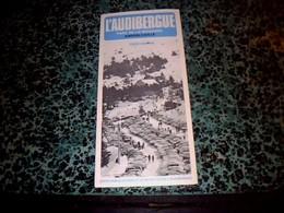 Vieux Papier Dépliant Touristique L'Audibergue Parc De La Moulière Andon/Caille Année 70? - Dépliants Touristiques