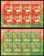 315 - Belarus - 2007 - 100 Years Of Scouting - EUROPA - 2 Sheet - MNH - Lemberg-Zp - Belarus