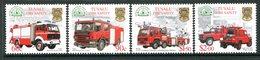 Tuvalu 2001 Fire Service Set MNH (SG 994-997) - Tuvalu