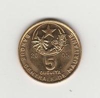5 OUGUIYA 2005 - Mauritanie