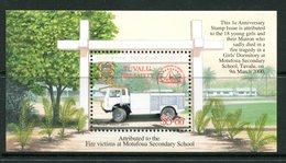 Tuvalu 2001 Fire Service MS MNH (SG MS998) - Tuvalu