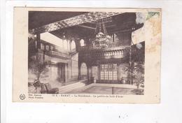 CPA RABAT , LA RESIDENCE,, LE PATHIO EN BOIS D ARAR En 1928! - Rabat