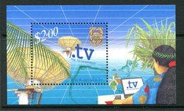 Tuvalu 2001 Inauguration Of .tv ISP MS MNH (SG MS1009) - Tuvalu