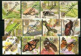 Tuvalu 2001 Insects - SPECIMEN - Set MNH (SG 1010-1021) - Tuvalu