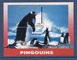 Cambodge - Bloc N° 183 - Pingouins - Neuf Sans Charnière - 2001 - Cambodia
