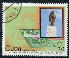 Y85 CUBA 1988 3252 30th Anniversary Of The Battle Of Santa Clara - Gebruikt