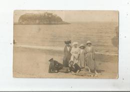 ILE  FORT BRETAGNE ? CARTE PHOTO ANCIENNE NON SITUEE AVEC BELLE ANIMATION - Postcards