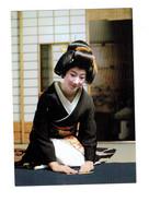 Cpm - Japon - Femme élégante - Geisha - KYOTO - Coiffure Peigne - Otros