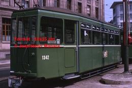Reproduction D'une Photographie Dutramway B.V.B Ligne 11 à Bâle En Suisse En 1965 - Reproductions