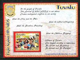 Tuvalu 2004 AIDS Awareness - SPECIMEN - MS MNH (SG MS1134) - Tuvalu