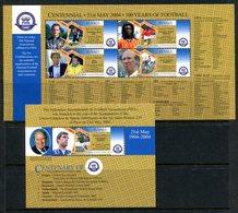 Tuvalu 2004 Centenary Of FIFA MS (2) Set MNH (SG MS1136-1137) - Tuvalu