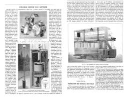 L'ECLAIRAGE PORTATIF Par L'ACETYLENE  1899 - Ciencia & Tecnología