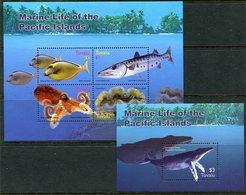 Tuvalu 2005 Marine Life MS (2) Set MNH (SG MS1150-1151) - Tuvalu