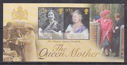 South Georgia 2002 The Queen Mother M/s ** Mnh (47850) - Géorgie Du Sud