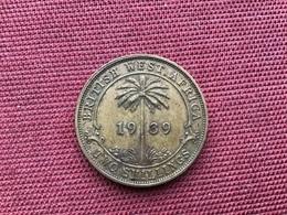 BRITISH WEST AFRICAIN Monnaie De 2 Schilling 1939 - Colonies