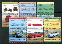 Tuvalu - Nanumaga 1984 Cars - 1st Issue Set MNH - Tuvalu