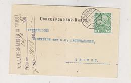 AUSTRIA 1910 WIEN Perfin WOHANKA & COMP Postcard - Briefe U. Dokumente