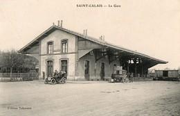 SAINT CALAIS ( 72 ) - La Gare ( édition Tabareau ) - Saint Calais