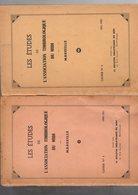 Etudes De L'association Timbrologique Du Midi  N°3  Et 4 ( 1950-1952 ) - Specialized Literature
