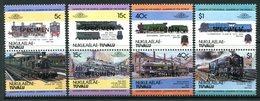 Tuvalu - Nukulaelae 1984 Locomotives - 1st Issue - SPECIMEN - Set MNH - Tuvalu (fr. Elliceinseln)