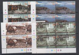 British Antarctic Territory 2001 Port Lockroy 4v Bl Of 4 ** Mnh (47852) - British Antarctic Territory  (BAT)
