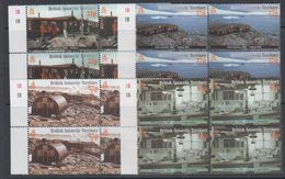 British Antarctic Territory 2001 Port Lockroy 4v Bl Of 4 ** Mnh (47852A) - British Antarctic Territory  (BAT)