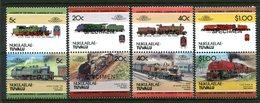Tuvalu - Nukulaelae 1984 Locomotives - 2nd Issue - SPECIMEN - Set MNH - Tuvalu (fr. Elliceinseln)
