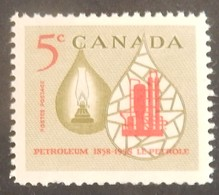 "CANADA YT 308 NEUF**MNH ""INDUSTRIE PETROLIERE"" ANNÉE 1958 - 1952-.... Règne D'Elizabeth II"