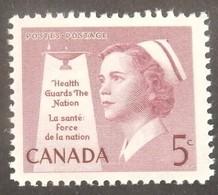 "CANADA YT 307 NEUF**MNH ""INFIRMIERES"" ANNÉE 1958 - 1952-.... Règne D'Elizabeth II"