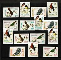 Bhutan 1968-69  Sc # 99 / 99n  MNH **  Birds - Oiseaux  -  NON DENTELES - Bhután