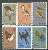 Iles Caïmanes N° 353 / 58 XX  Faune : Oiseaux (II)  La Série Des 6 Valeurs Sans Charnière,  TB - Iles Caïmans