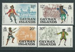 Iles Caïmanes N° 361 / 64 XX  Pirates  La Série Des 4 Valeurs Sans Charnière,  TB - Iles Caïmans